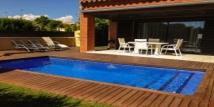 Аренда дома с частным бассейном для 8 человек в 200м от моря в Камбрилс (Коста Дорада, Испания)