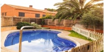 Аренда дома в Испании с 4-мя спальнями, частным бассейном, садом, интернетом в 200м от моря (Камбрилс, Ла Йоса)