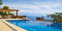 Аренда виллы с бассейном без краёв на Коста Браве (Испания, Бланес)